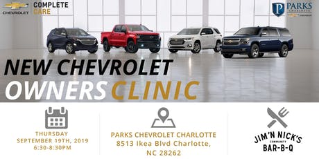 Chevrolet New Car Clinic tickets