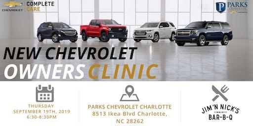 Chevrolet New Car Clinic