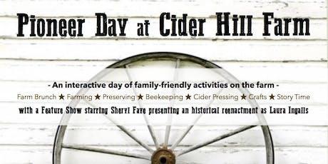 Pioneer Day with Laura Ingalls Wilder tickets