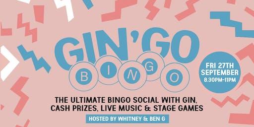 GINGO BINGO!!!! - The Ultimate Bingo Social 27/9/2019