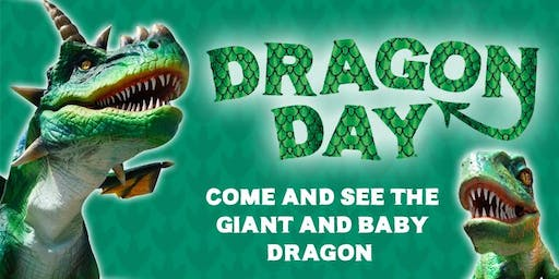 Dragon Day - Enrol as a knight and help tame our giant dragon