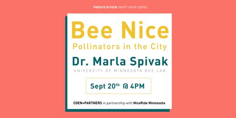 Bee Nice : Pollinators in the City tickets