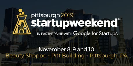 Startup Weekend Pittsburgh 2019 tickets