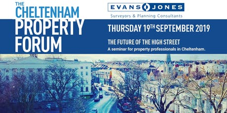 Cheltenham Property Forum - The Future of the High Street tickets