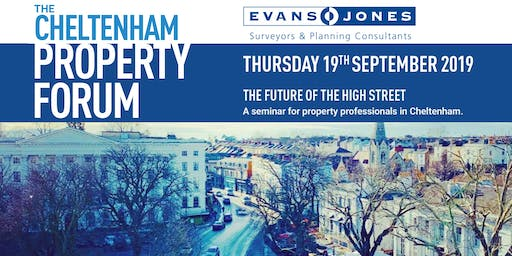 Cheltenham Property Forum - The Future of the High Street