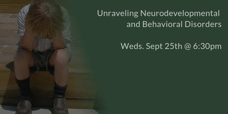 Unraveling Neurodevelopmental and Behavioral Disorders - ADHD, Autism, OCD, Anxiety, SPD, ODD, Dyslexia, Tourette's tickets