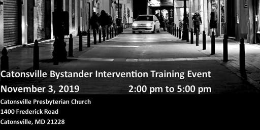 Catonsville Bystander Intervention Training