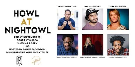 Howl at Nightowl - Friday September 20th tickets