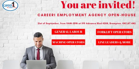 Career1 Employment Agency - Open House tickets