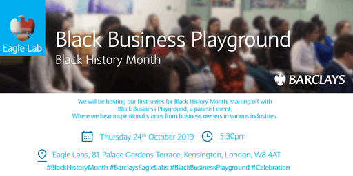 Barclays Black History Month: Black Business Playground