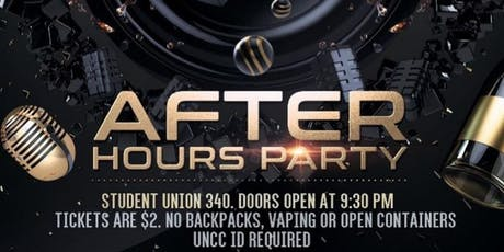 After Hours Party tickets