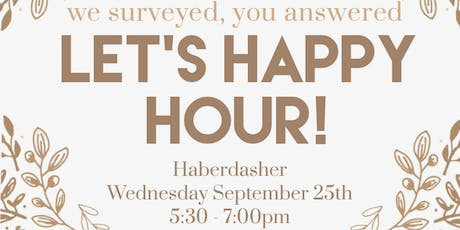 LCSV Happy Hour! tickets