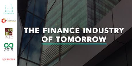 The Finance Industry of Tomorrow tickets