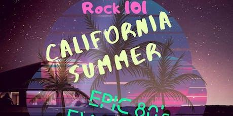 California Summer / Epic 80's Evolution (SAT) tickets