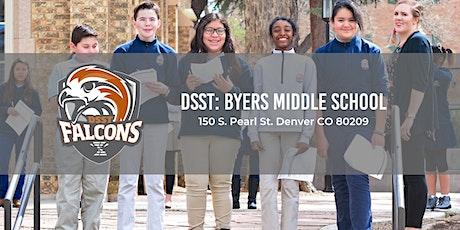 DSST: Byers Middle School Open Houses 19-20 tickets