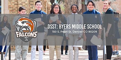 DSST: Byers Middle School Open Houses 19-20