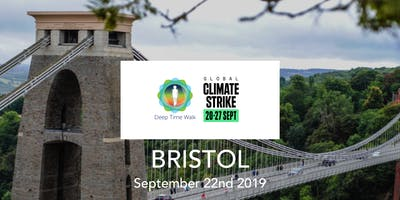 Global Climate Strike - Bristol - Deep Time Walk