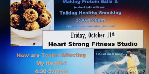 Making Protein Balls & Talking Toxins