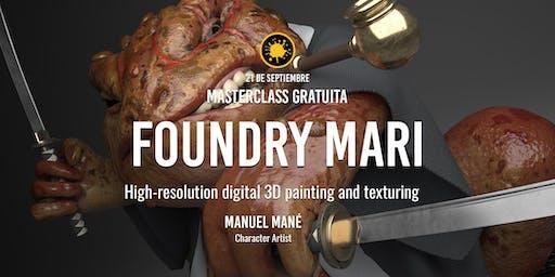 "Masterclass ""Foundry MARI"" – Manuel Mané"