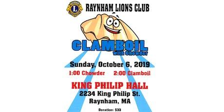 Raynham Lions Clam Boil tickets