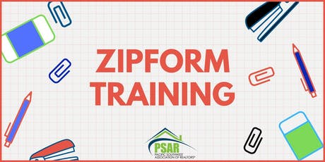 zipForms Traning tickets
