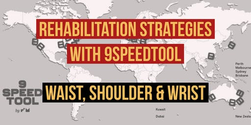 Rehabilitation Strategies with 9SpeedTool System (common Waist, Shoulder & Wrist problems )
