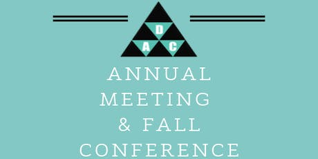 DAC Annual Meeting and Fall Conference tickets