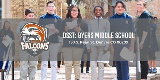 DSST: Byers Middle School Tours 19-20