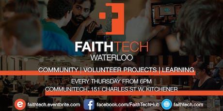 FaithTech Waterloo Weekly tickets