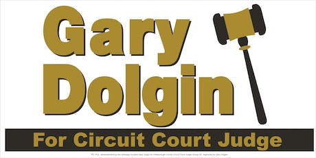 Gary Dolgin For Judge Reception At Bales Attorneys tickets