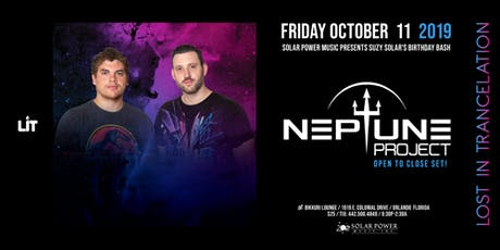 Lost in Trancelation ft. Neptune Project Open to Close tickets