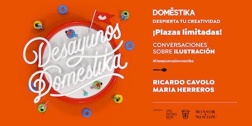 Desayunos Domestika: ilustración con Ricardo Cavolo & Maria Herreros