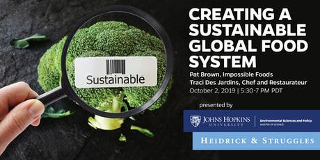 The Business of Saving our Planet: Creating a Sustainable Global Food Syste tickets