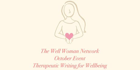 The Well Woman Network Therapeutic Writing for Wellbeing tickets