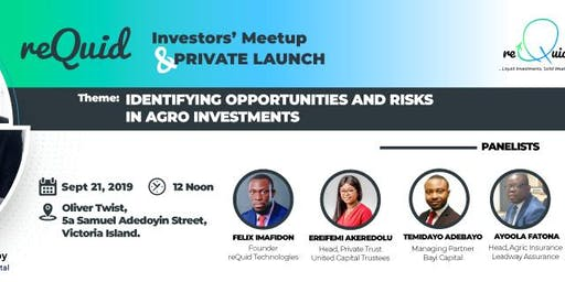 reQuid Investors' Meetup and Private Launch