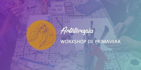 Arteterapia - Workshop de Primavera | Ateliê Mulher em Poesia ingressos