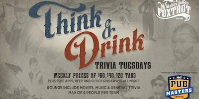 Pub Masters Trivia LIVE at Whiskey Tango Foxtrot-Denver!