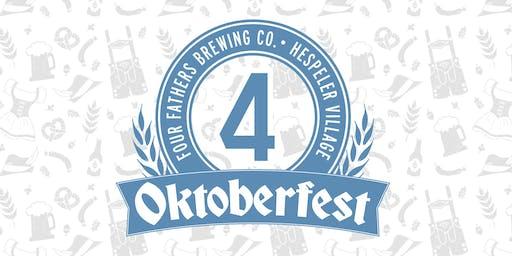 Oktoberfest At Four Fathers Brewing