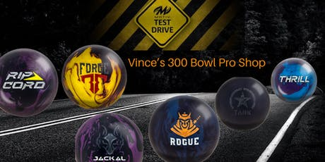 MOTIV Test Drive  Vince's 300 Bowl Pro Shop tickets