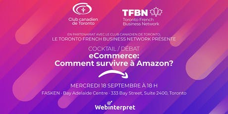 Cocktail débat - eCommerce: comment survivre à Amazon? tickets
