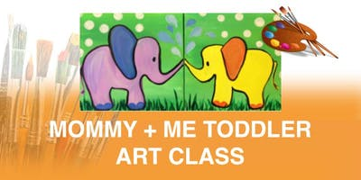 Mommy + Me Toddler Art Class