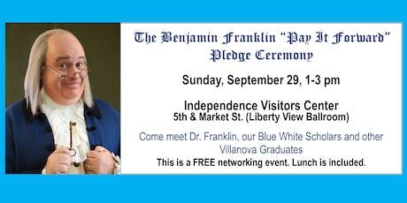 Benjamin Franklin-Pay It Forward Ceremony tickets