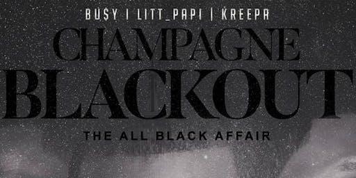 Champagne Black Out 2019 (AllBlackAffair)