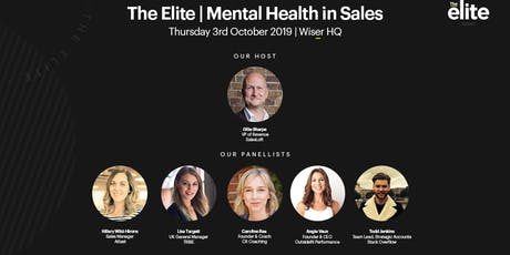 The Elite | Mental Health in Sales tickets