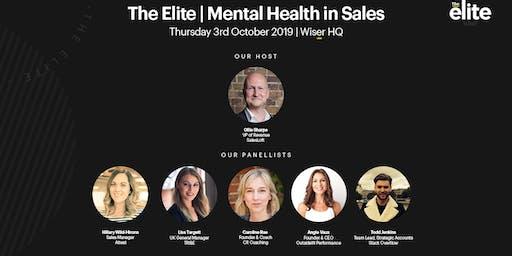 The Elite | Mental Health in Sales