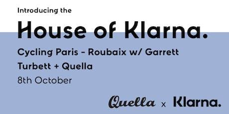House of Klarna - In conversation w/ para-athelete Garrett Turbett x Quella tickets