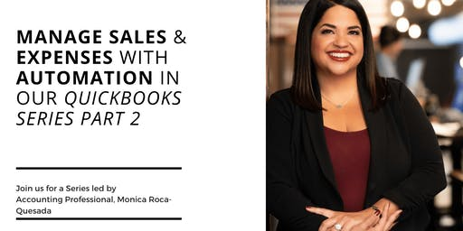 Manage Sales & Expenses With Automation through Quickbooks Online