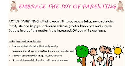 Active Parenting-Free tickets