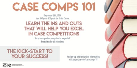 Case Comps 101 tickets