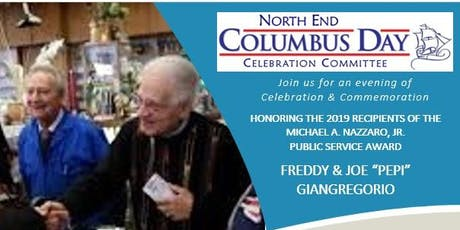 2019 North End Columbus Day Reception tickets